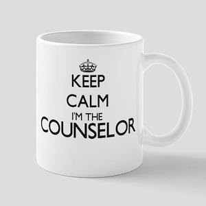 Keep calm I'm the Counselor Mugs