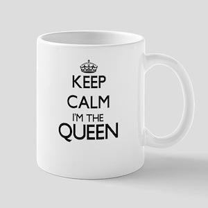 Keep calm I'm the Queen Mugs