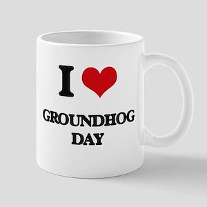 I Love Groundhog Day Mugs