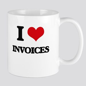 I Love Invoices Mugs