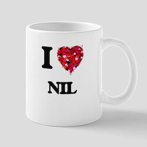 I Love Nil Mugs