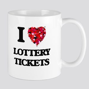 I love Lottery Tickets Mugs