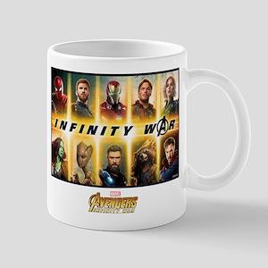 Avengers Infinity War Team 11 oz Ceramic Mug