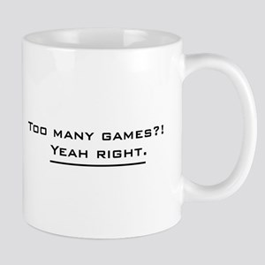 Too Many Games Mug