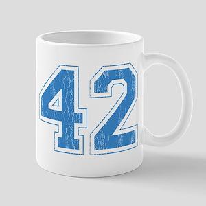 Retro Number 42 Mug