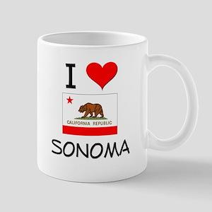 I Love Sonoma California Mugs