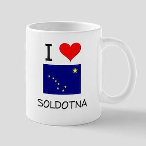 I Love SOLDOTNA Alaska Mugs