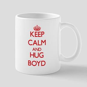 Keep calm and Hug Boyd Mugs