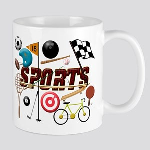Sports Collage Mugs