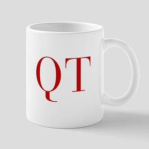 QT-bod red2 Mugs