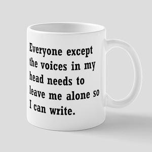 Leave Me Alone to Write Mug