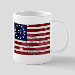 1776 American Flag Mug