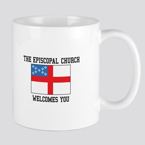 The Episcopal church welcomes you Mugs