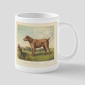 Cute Irish Terrier print Mug
