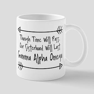 Gamma Alpha Omega Sisterhood 11 oz Ceramic Mug