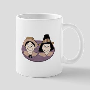 Pilgrim Couple Mugs
