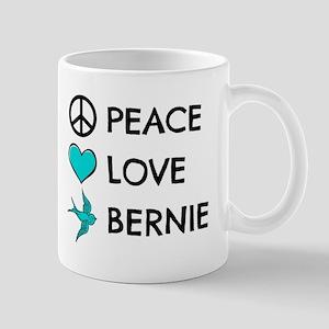 Peace * Love * Bernie Mugs