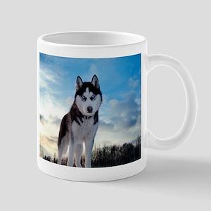 Husky Dog Outdoors Mugs