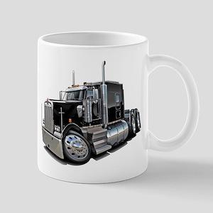 Kenworth W900 Black Truck Mug