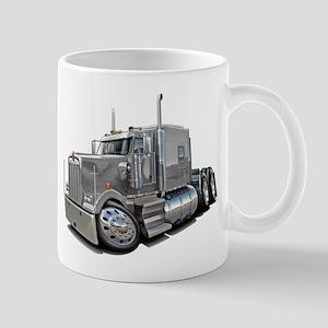 Kenworth W900 Silver Truck Mug