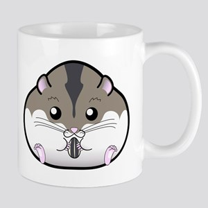 Fat Russian Dwarf Hamster Mugs