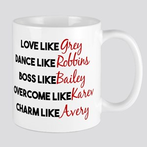 Grey's Like Characters Mug