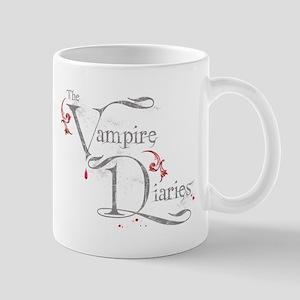 The Vampire Diaries grungy grey Mug
