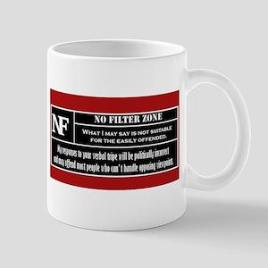 No Filter Zone Mugs