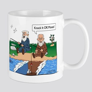 Fishing With Moses Mug