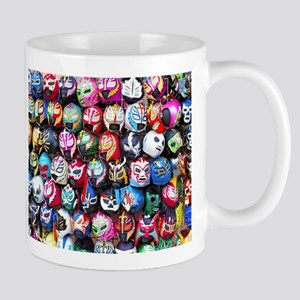 Mexican Wrestling Masks Mugs