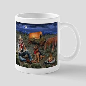 Lonesome Cowboy Mugs