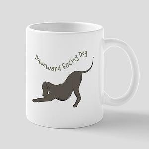 Downward Dog Mugs