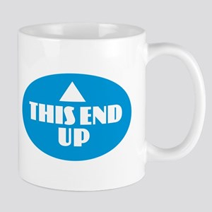 This End Up - Blue Mugs