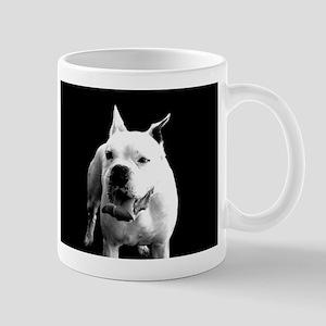 White Boxer Dog Mugs