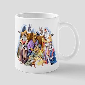 Great Dane Nativity Mug