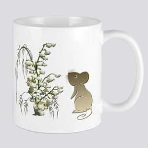 Cute Mouse and lily of the va Mug