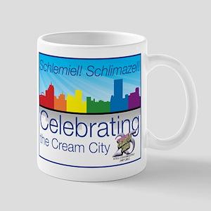"""Schlmiel! Schlimazel!"" Mug"