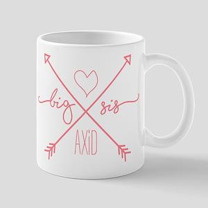 Alpha Xi Delta Big Arrow 11 oz Ceramic Mug