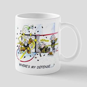 Where's My Defense? Mugs