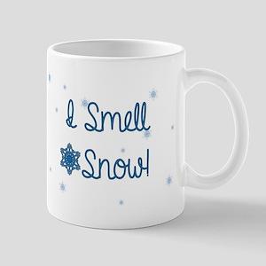 I Smell Snow Mugs