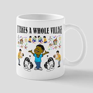 Childrearing Black children Mug