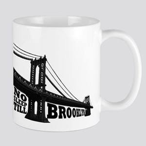 NO SLEEP TILL BROOKLYN Large Mugs