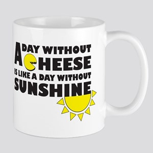 A Day Without Cheese Mug