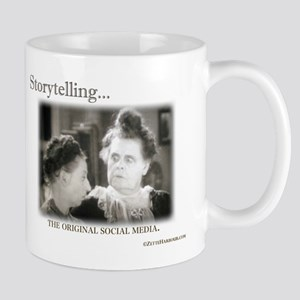 Storytelling...The Original Social Media Mug