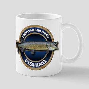 Northern Pike Fishing Mug