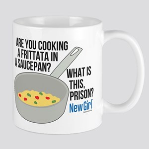 New Girl Frittata Mug