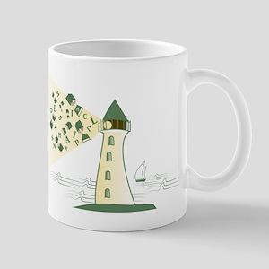Lighthouse library Mugs