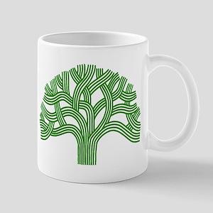 Oakland Tree Green Mug