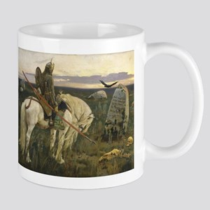 The knight at the crossroads Mugs
