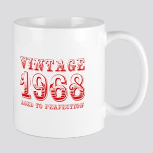 VINTAGE 1968 aged to perfection-red 400 Mugs